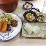 小浜荘 - 料理写真:夕飯