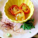 日野宿 ちばい - 塩味で食べる蕎麦:薬味