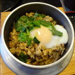 山葵 - 鶏釜飯(親子)