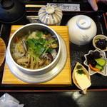 山葵 - あさりバター釜飯