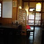 山葵 - 店内から入り口