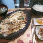 20768413 - 野菜炒め定食 780円