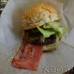 ジャミジャミ - ベーコンチーズバーガー(¥850→¥700)