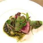 オステリア スゲロ - 本マグロ頭肉のグリル
