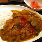 Rise Curry+Beer - 煮込み野菜カレー
