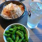 赤から - 枝豆と大根サラダ