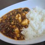 Ryuutenrou - セットのマーボ豆腐