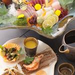 かどや霞邸 - 料理写真:自慢の味を満喫できる多彩なコース料理