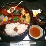 お食事処 安楽喜 - 「壱の膳」(1800円)