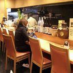 酒菜の肴 遊食家 - カウンター 9名様×9