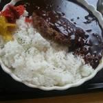 美幌亭 - ハンバーグカレー2