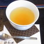 憩和井 - はんなりゆず茶 420円