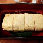 しば - う巻き。フンワリ美味しい出汁巻き玉子。700円