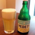 カレーライス ディラン - ホワイトビール(680円)