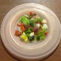 ラ スフォリーナ - 鮮魚のカルパッチョ