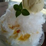クタクタ - マンゴーかき氷(\500)