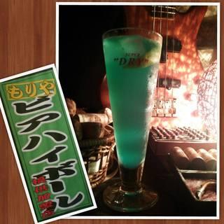 BAR mix 226 - 守谷ビアハイボール【春バージョン】 守谷市のシンボルの色です。 お食事にも合うスッキリとした味わいになっております。是非お試しください!2月14日(金)より。