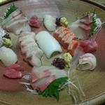 心寿司 - 刺身盛合せ