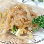 山海楼 - クラゲの前菜