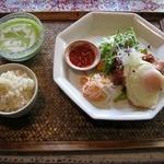 芽亜里 - 芽亜里ガイヤーンランチ(デザート付:1500円)