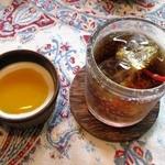 芽亜里 - デザートとアイスティー(単品:500円)