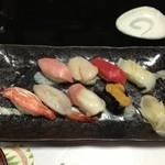鮨一八 - ヒラメを食べちゃいました!