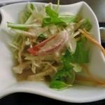 タイランド - ランチセットのサラダ
