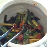 中華そば 四つ葉 - ニラキムチ?これは食べていませんが・・・。