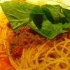 柿乃木カフェレストラン - 料理写真:ミートソース拡大