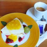グゥー - エスプレッソ・レアチーズケーキ