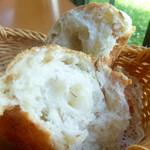 リストランテ アンジェロ - パン 美味しい!