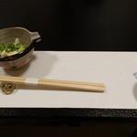 割烹かわむら - 料理写真:先付けの湯葉