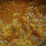 神戸マハル - 具材たっぷり豆カレー