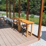 池川茶園 - オープンテラス