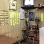 木曽馬 - 木曽馬の店内は9人ほどしか入れない昭和感ある古い小さなお店 2013.8.22撮影