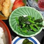 肉屋食堂 - 青菜のおひたし