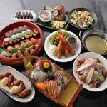 海鮮居酒屋さんせん - 海鮮をたっぷり味わえる贅沢なコース!飲み放題も付けられますよ!