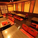 海鮮居酒屋さんせん - 宴会に最適な座敷の大広間は40名様までOK!