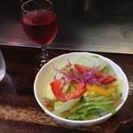 ステーキハウス 梶 - 前菜&食前グラスワイン