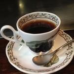ステーキハウス 梶 - 食後のコーヒー