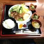 田舎家 - 宮崎に来たらチキン南蛮!!(≧∇≦)