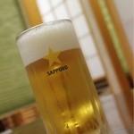 居酒屋のんべえ - 生ビール
