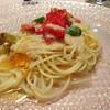 小さなホテル風小僧 - 料理写真:トマトとオクラの冷製パスタ