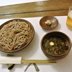 貞寿庵 - 鴨汁蕎麦切り(1,000円)
