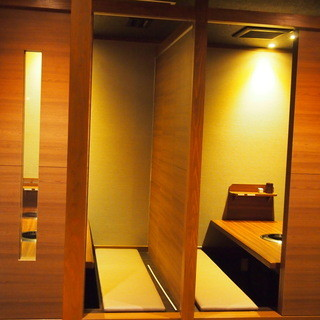 【接待に最適~4名様】掘りごたつ完全個室