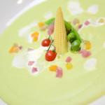 アプローズ - ウエディングコーススープの一例です。