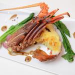 アプローズ - ウエディングコースお魚料理の一例です。