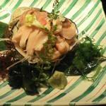 北海料理 るるもっぺ - 北寄貝のお造り