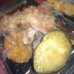 和庵 - 茄子の生姜炒め