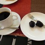 マレビトコーヒー - ストロングコーヒーとデーツ
